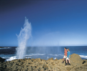 The Blowholes Carnarvon - Accommodation Gold Coast